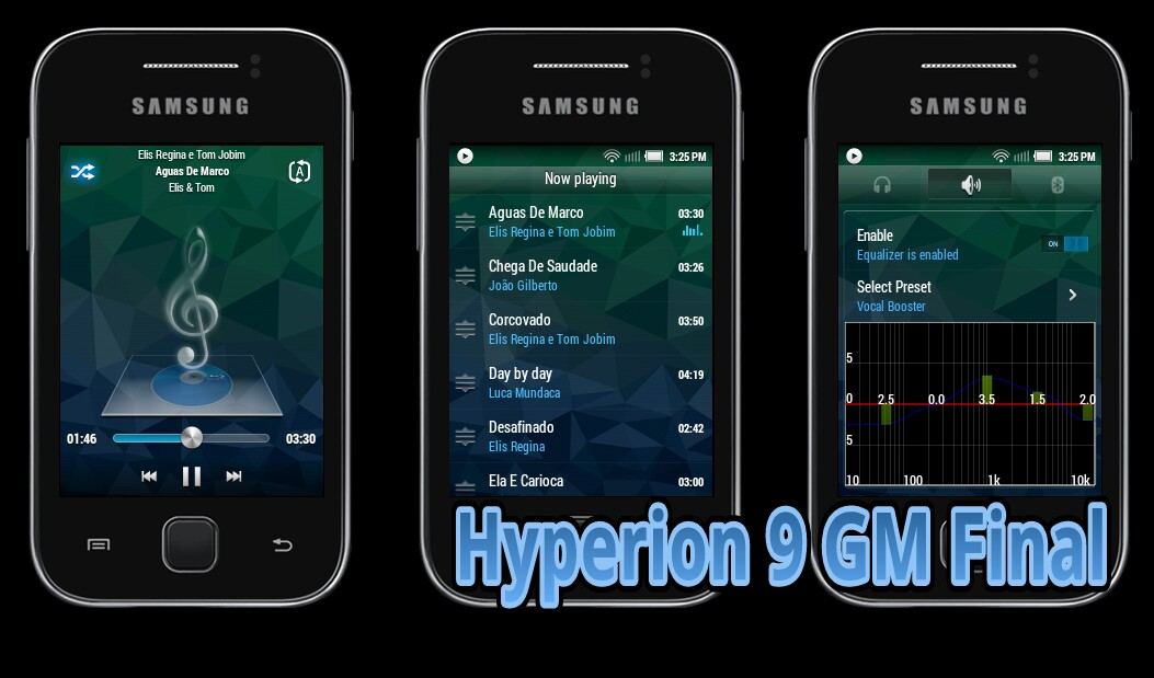 Rom Hyperion 9 GM final build fastest & smooth